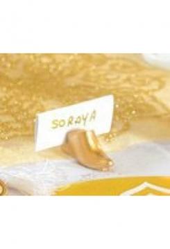 Goldener Schuh 2er Set