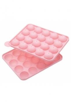 Popsform Pink 20 Stück