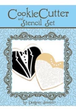 Stencil Hochzeitspaar Set